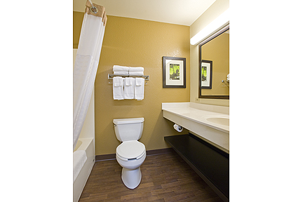 Extended Stay America Bathroom