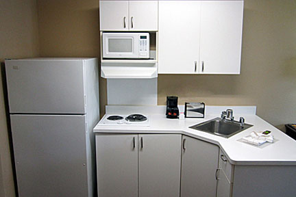 Extended Stay America Kitchenette
