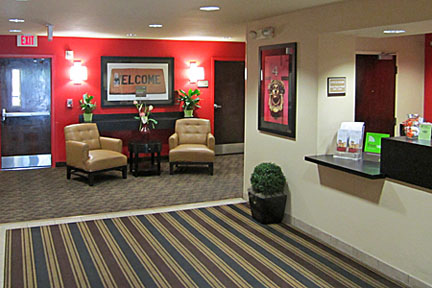 Extended Stay Lobby