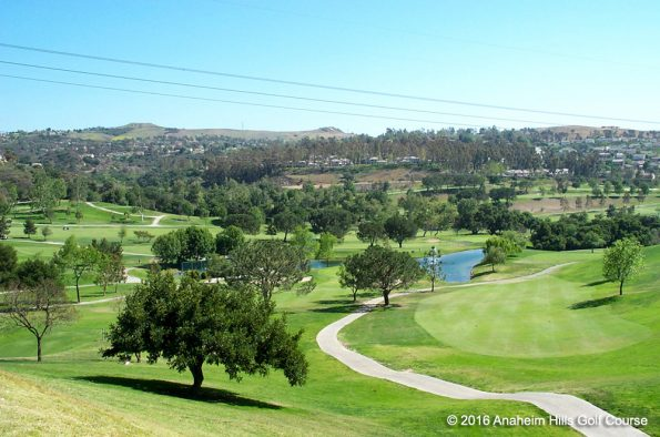 30 miles to Anaheim Hills Golf Course